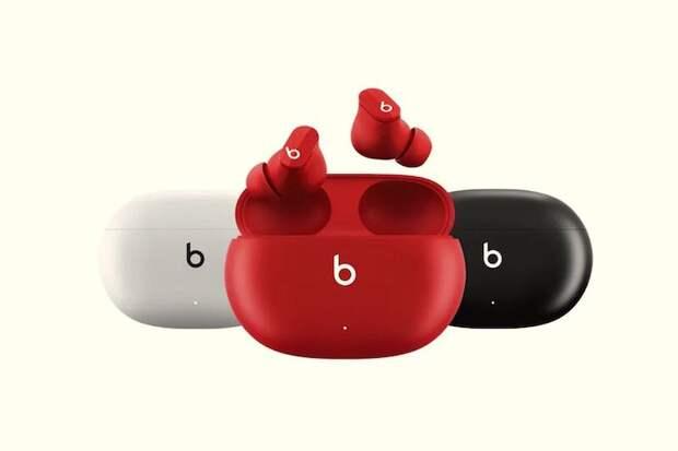 Beats представила беспроводные наушники Studio Buds с активным шумоподавлением и ценой 14 тыс. рублей