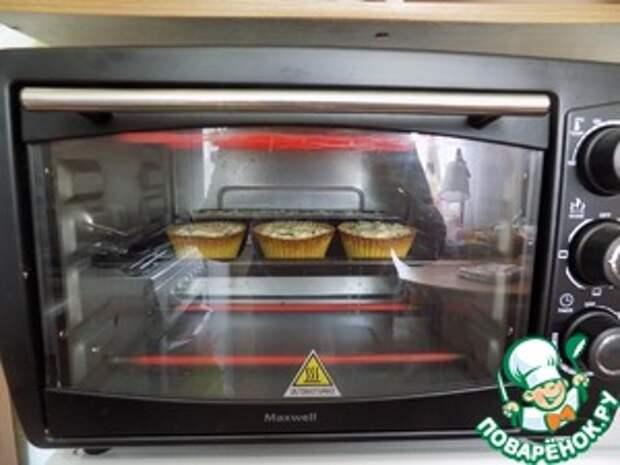 Кабачковые кексы с беконом и луком Масло оливковое