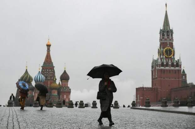Низкое давление, дождь и до 18 градусов тепла ожидаются в Москве 3 мая