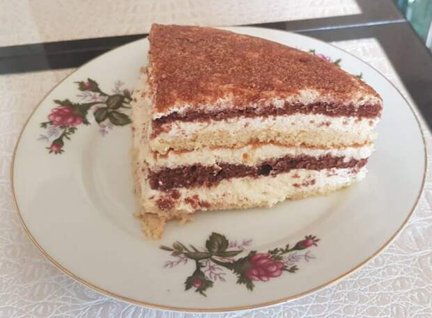 "Торт ""Птичье молочко"" по рецепту моей бабушки"