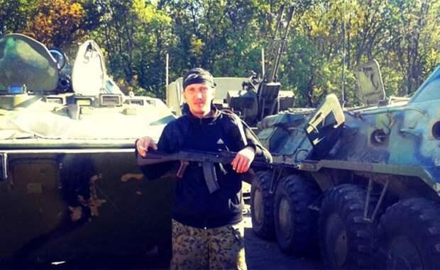 На фото: бывший боец легендарного подразделения «Спарта» Евгений Щербак
