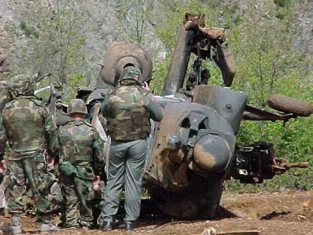 Обломки черных ястребов. Потери НАТО в Югославии