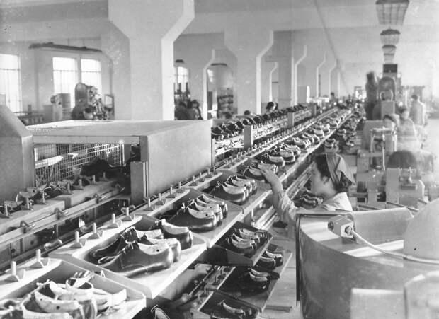 Автоматизированная обувная фабрика. Пхеньян