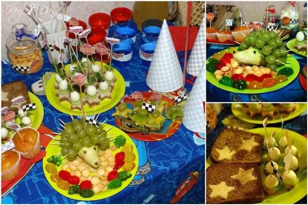Как украсить стол на день рождения ребенка, чтобы он остался доволен (39 фото)
