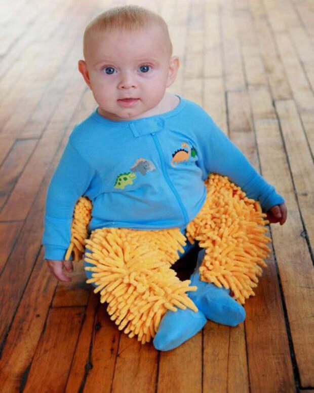 Забавный костюм помогай-ка для родителей