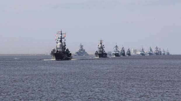 Масштабные учения ВМФ РФ стартовали в Каспийскомморе