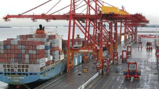 Дорогой труд - портовый терминал в Сиднее