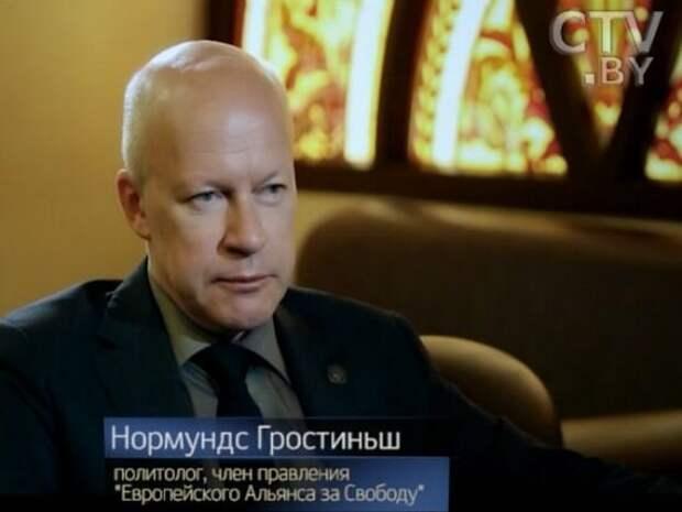 Гростиньш рассказал, как Латвия могла создать «санитарный кордон» между Европой и РФ