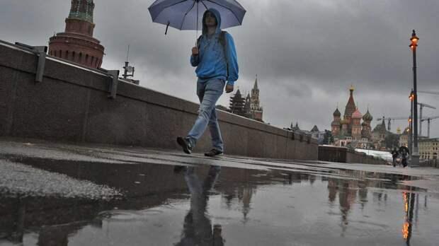 В Москве 8 мая ожидаются дожди