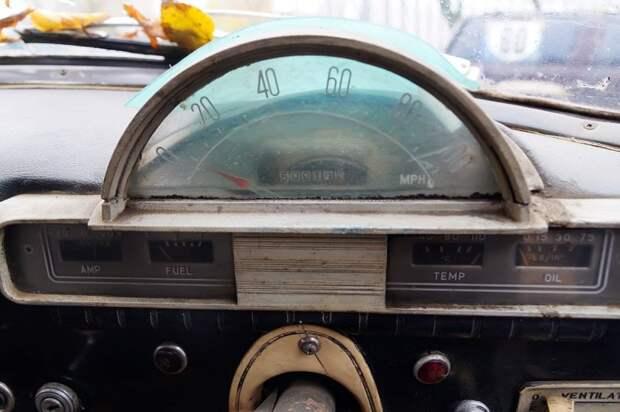 Приборы — в милях, надписи на щитке — на английском авто, волга, газ-21, олдтаймер, правый руль, редкий авто, ретро авто, экспорт