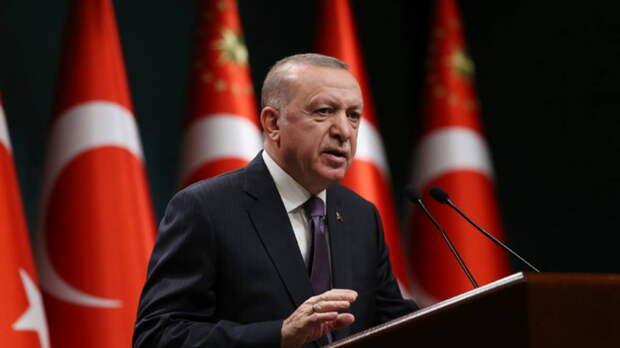 """Эрдоган """"проклял"""" правительство Австрии из-за израильского флага"""