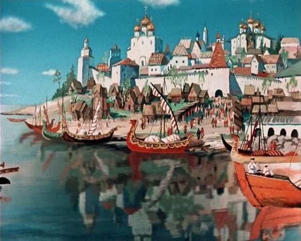 Советские мультфильмы: Аленький цветочек