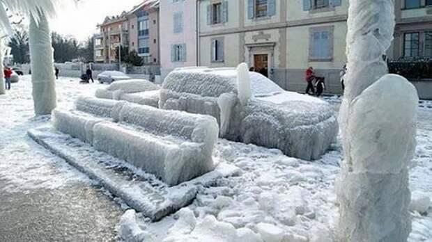 Жителей Ленобласти предупредили о «ледяном дожде» и гололеде