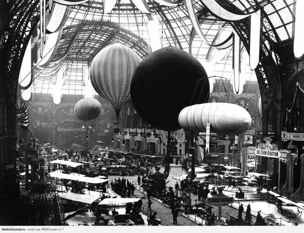 Авиашоу в Париже в 1909 году