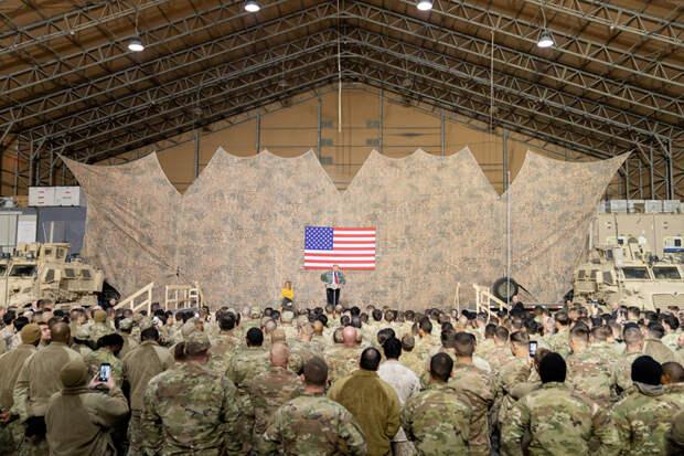 СМИ: США хотят перебросить войска изАфганистана ближе кРоссии
