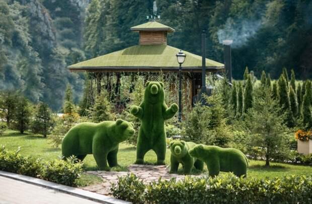 Топиари – растительные скульптуры