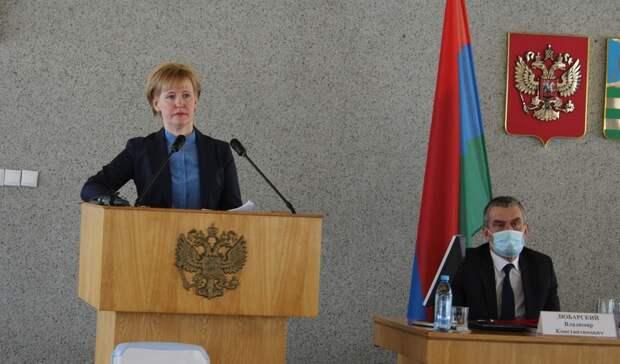 Петросовет рассказал, как долго Ирина Мирошник будет исполнять обязанности мэра
