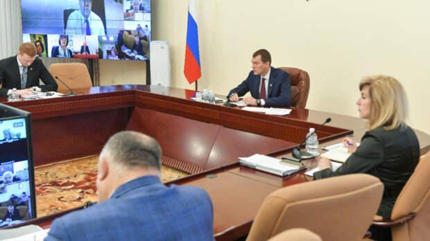Дегтярев вылетит к жителям подтопленных пунктов Хабаровского края
