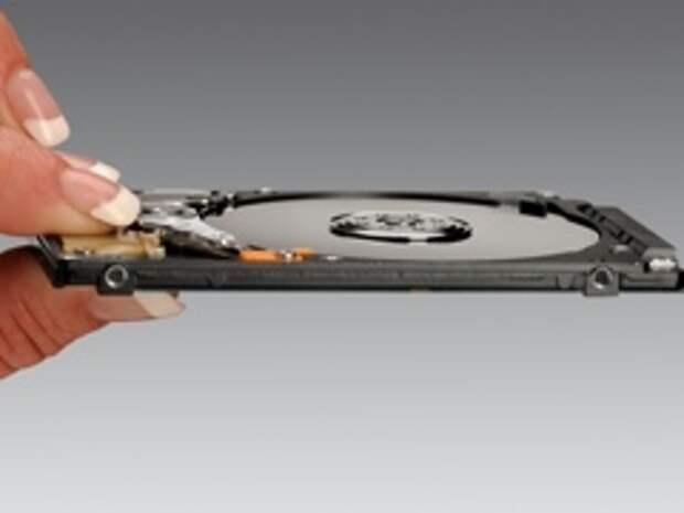 Hitachi создала самый тонкий в мире 320-гигабайтный винчестер