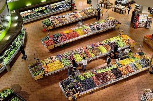 В торговом центре на Ленинградке можно снова закупаться продуктами