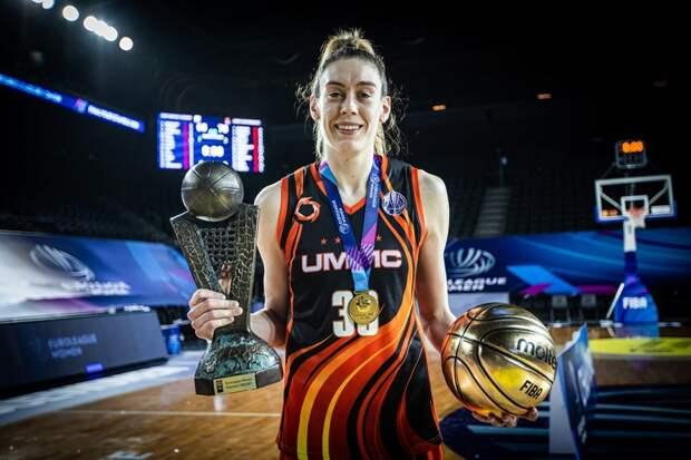 Баскетболистки УГМК стали чемпионами Евролиги