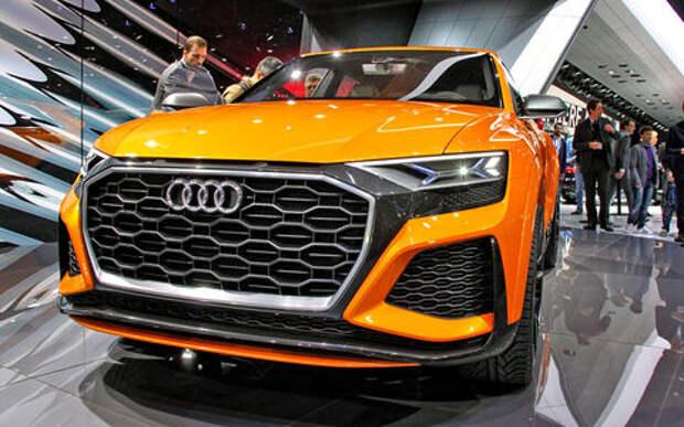 Концепт-тюнинг: Audi Q8 приехал в Женеву с электрическим наддувом