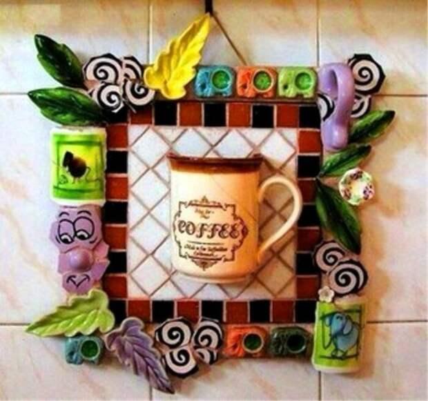 Оригинальная идея, которая может стать настоящим украшением кухни. /Фото: ya-superpuper.com