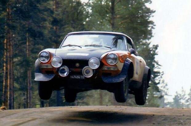 Выдающиеся родственники «Копейки». Fiat 124 Abarth Rally