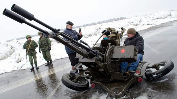 Киев пошёл на миномётный шантаж Вашингтона