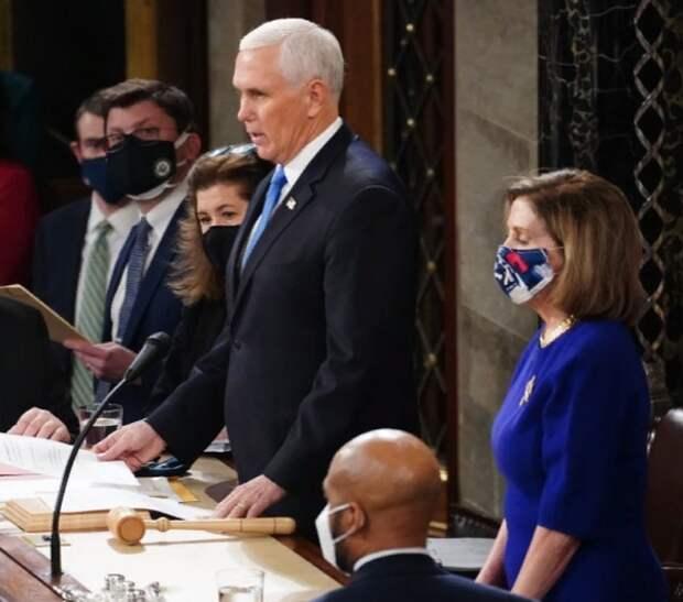 Конгресс утвердил избрание Байдена президентом