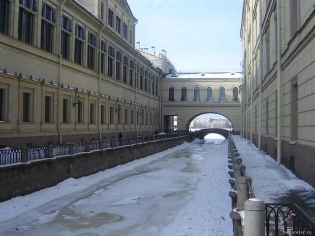 «Северная Венеция» зимой в фотографиях прошлых лет