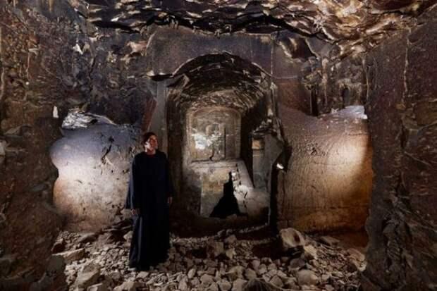 Найдена уникальная, но разграбленная гробница