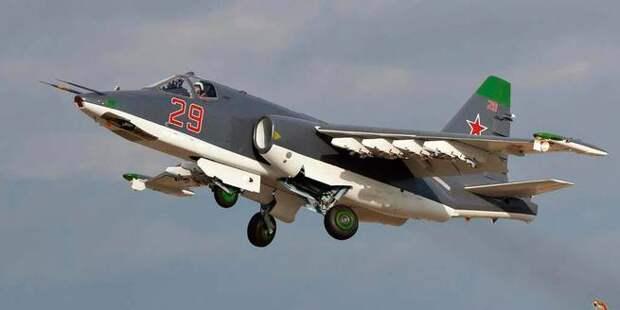 Курдский сговор: боевики в Сирии сбили российский самолет Су-25 из американского ПЗРК