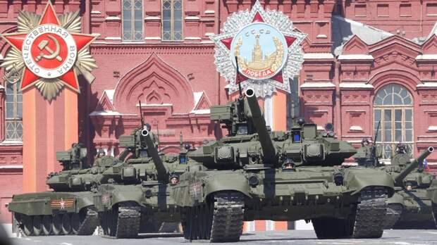 FR: танки вируса не боятся — российской бронетехнике ничто не мешает показать себя на параде во всей красе