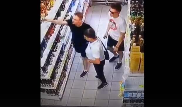 Оренбургские подростки обворовали  гипермаркет