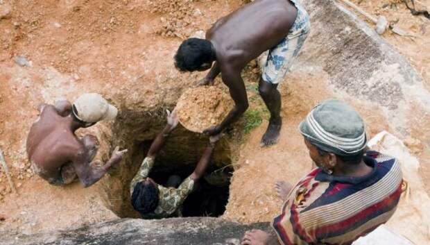 Во дворе на Шри-Ланке копали колодец, а выкопали полтонны сапфиров на 100 миллионов долларов