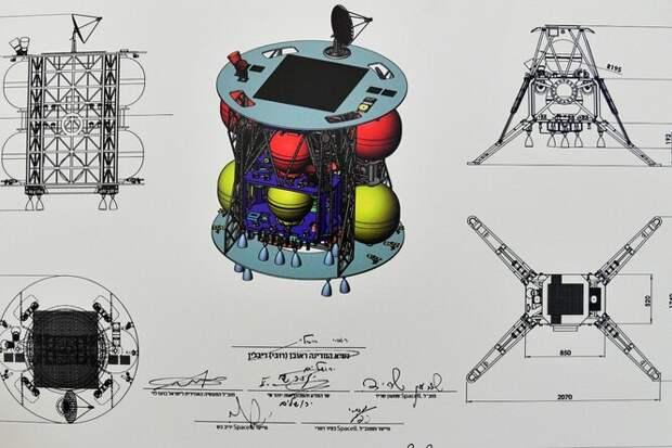 Израиль посадит наЛуну два аппарата. Иещё один оставит наорбите