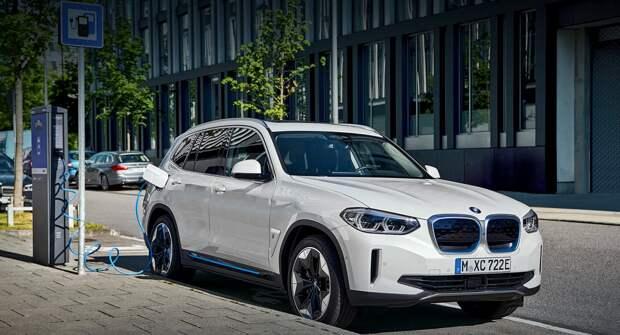 Электрокросс BMW iX3 опередил Mercedes-Benz EQC по запасу хода