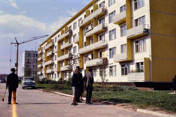 Место хрущевок в советской жизни