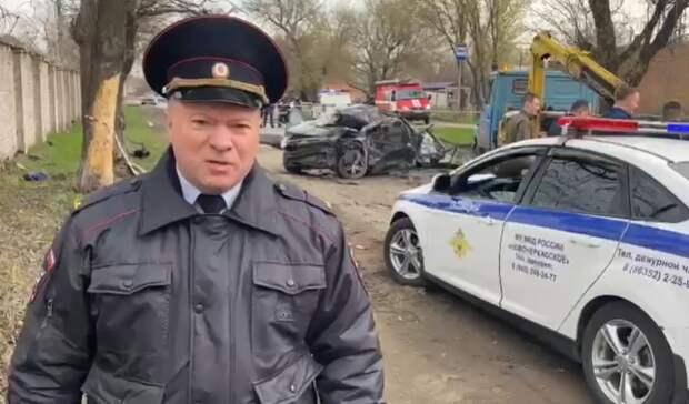 Несовершеннолетними оказались пятеро погибших вавтоаварии вНовочеркасске