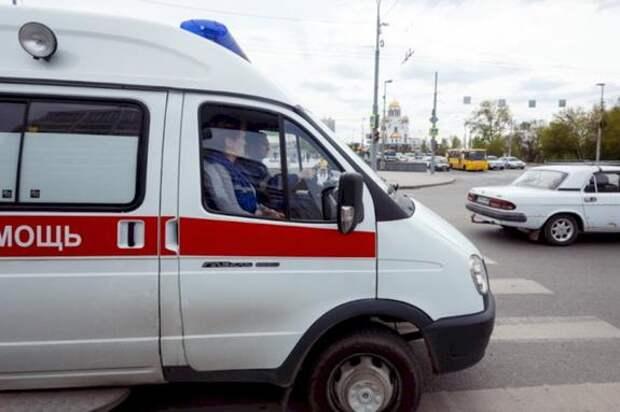 В ДТП в Симферополе у Скорой оторвало колеса