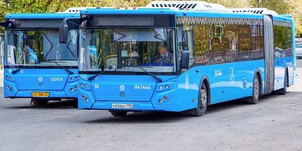 Два автобусных маршрута в Южном Медведкове изменятся с 31 июля