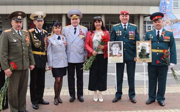 В Калининграде росгвардейцы приняли участие в праздничных мероприятиях, посвященных 76-летию годовщины Победы
