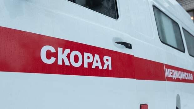 Пьяный водитель опрокинул иномарку в кювет под Омском