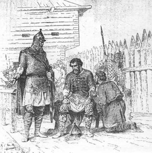 Ярополк в Родне (Иллюстрация из открытых источников)