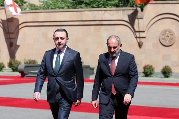Пашинян: Сотрудничество Армении иГрузии— безопасность врегионе