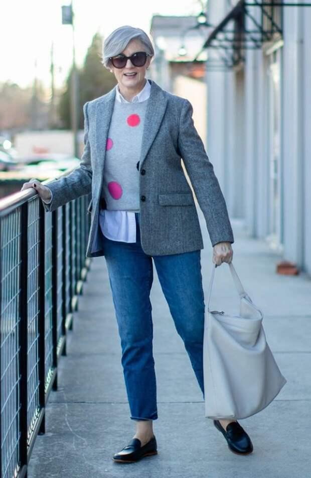 Уроки безупречного стиля от модных блогеров старше 50 лет