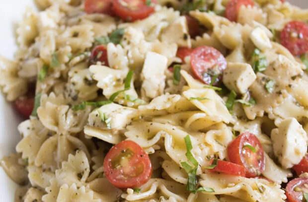 Превращаем обычные макароны во вкуснейшие салаты