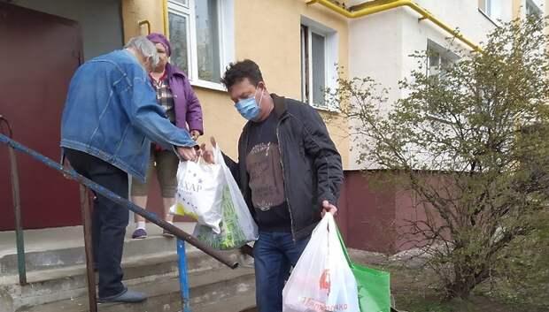 Волонтеры центра «Вектор» продолжают доставлять лекарства подольчанам