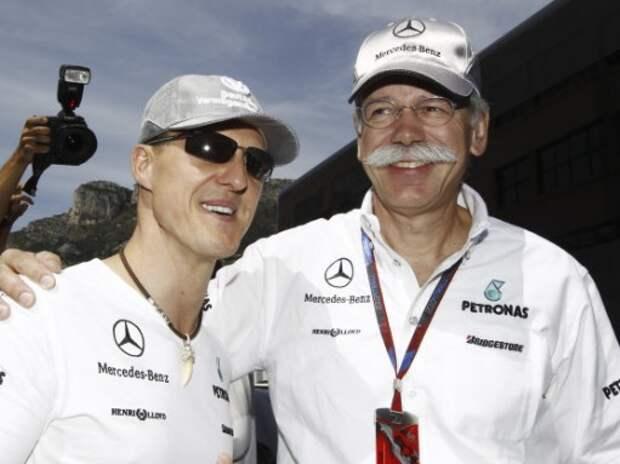 Mercedes-Benz не откажется от спонсирования Михаэля Шумахера